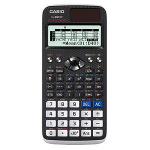 CALCULADORA CIENTIFICA CASIO FX-991EX 10+2DIG 552FUNC PANTALLA ALTA RESOLUCION FX-991EX